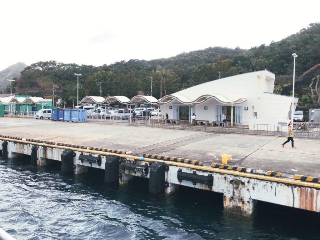 ポートロイド父島は二見港まで送り迎えあり