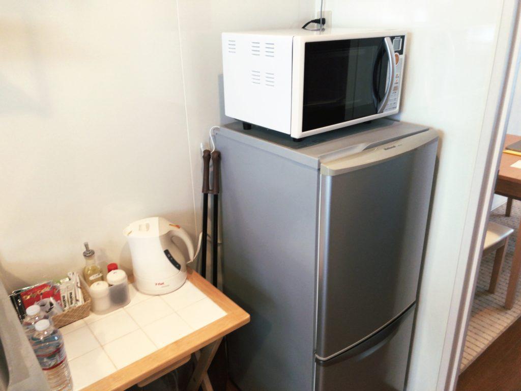 ポートロイド父島の冷蔵庫・レンジ
