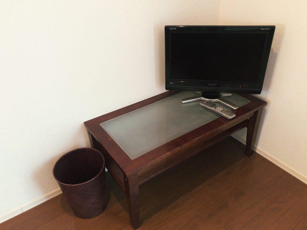 ポートロイド父島のテレビ