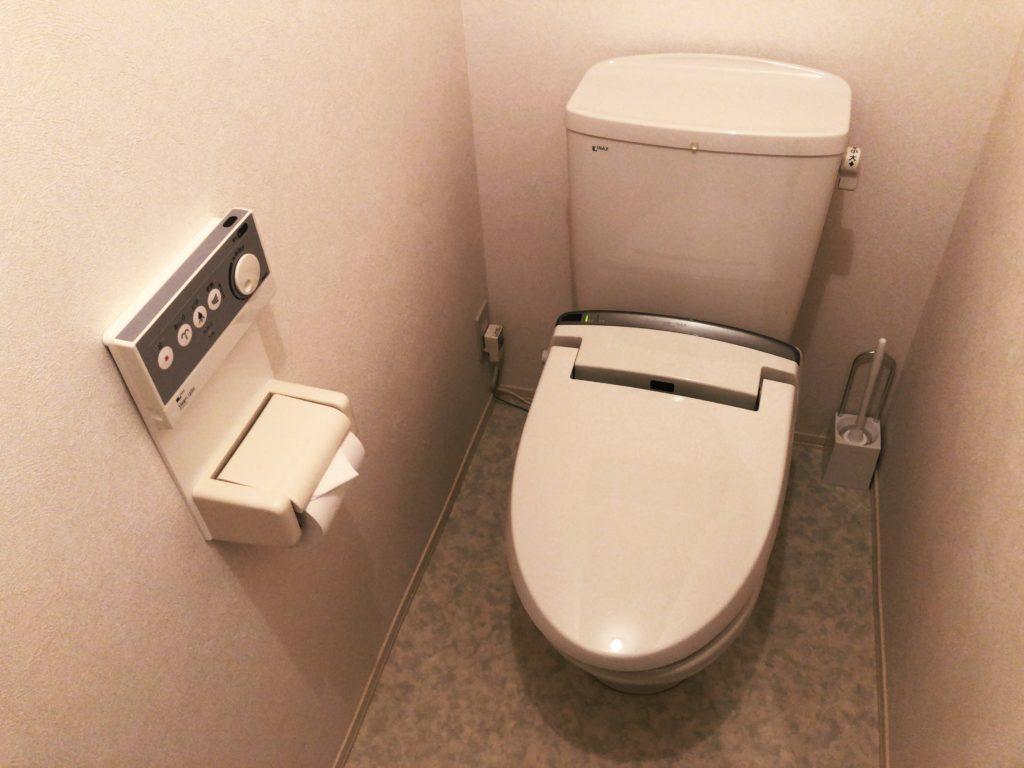ポートロイド父島のトイレ