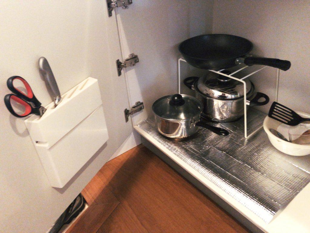 ポートロイド父島の調理道具