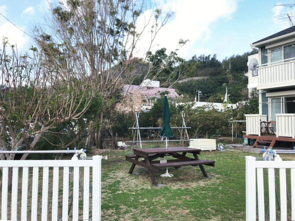 ポートロイド父島の庭