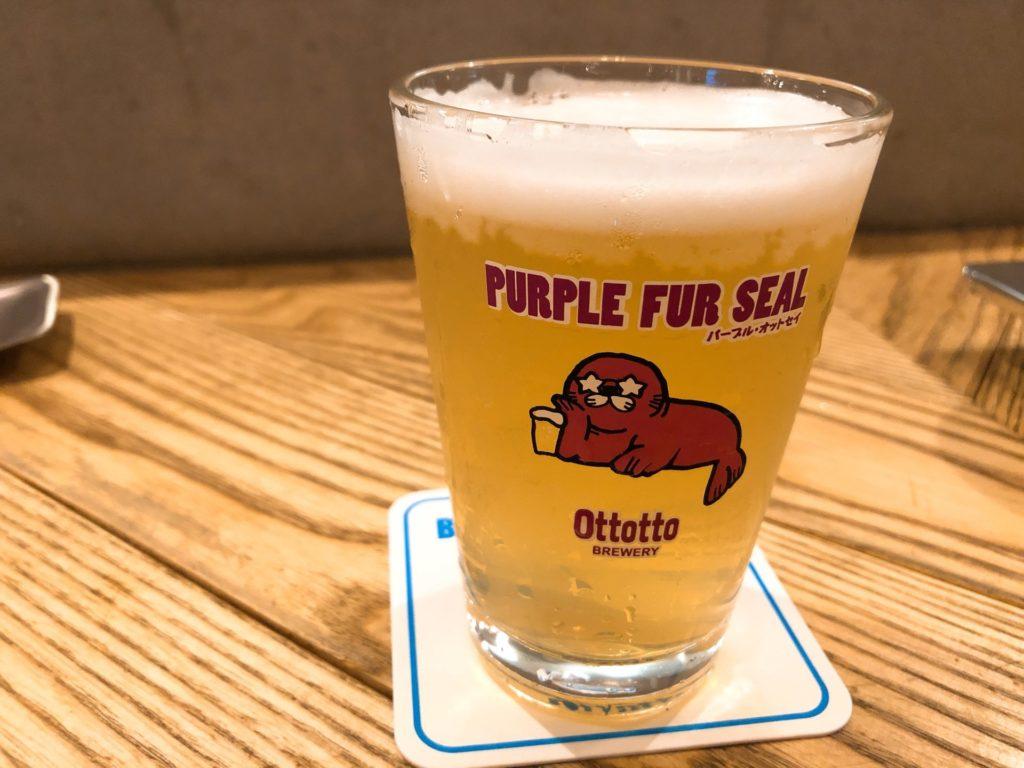 オットットブルワリー 浜松町のフルーツビール