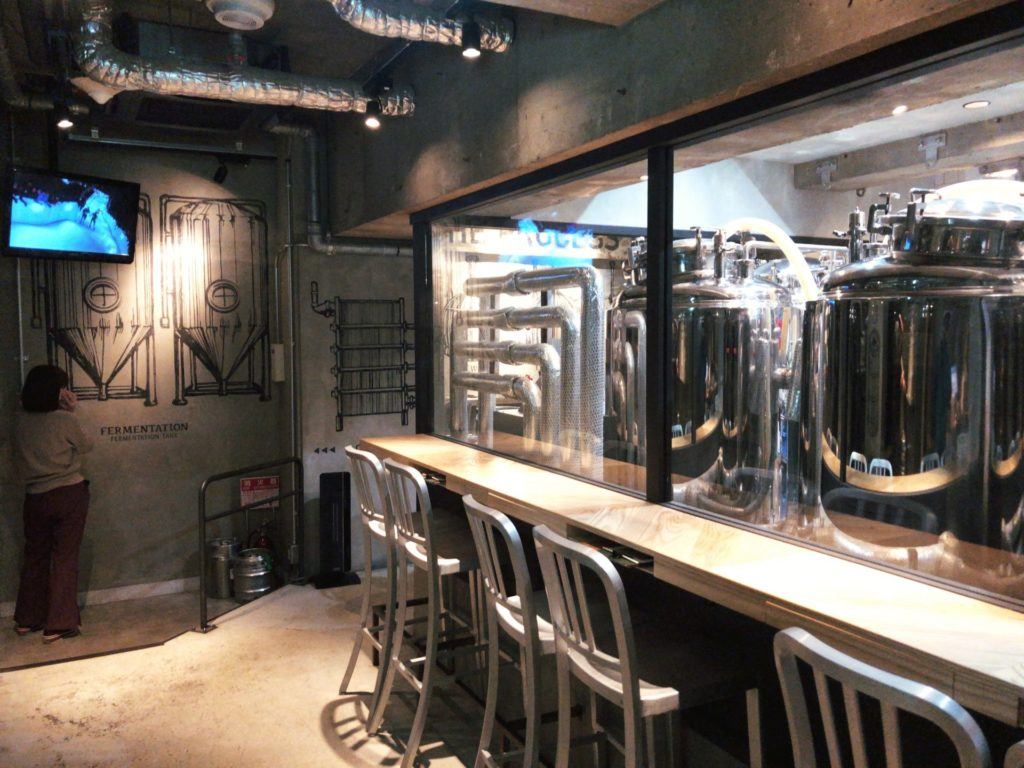 オットットブルワリー 浜松町のビール醸造所